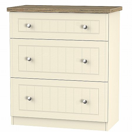 Sturtons - Salzburg 3 Drawer Deep Chest
