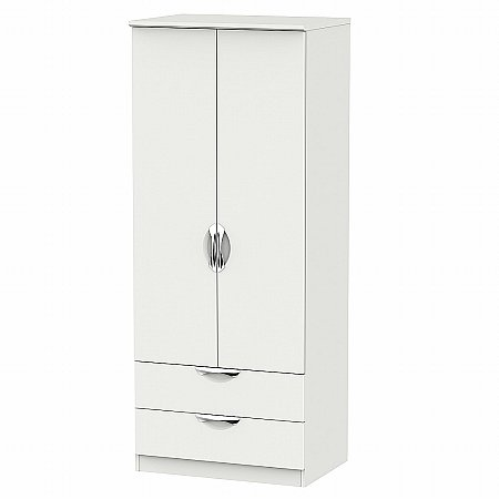 Sturtons - Hamble 2ft 6in 2 Drawer Robe