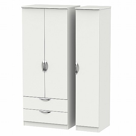 Sturtons - Hamble Triple 2 Drawer Robe