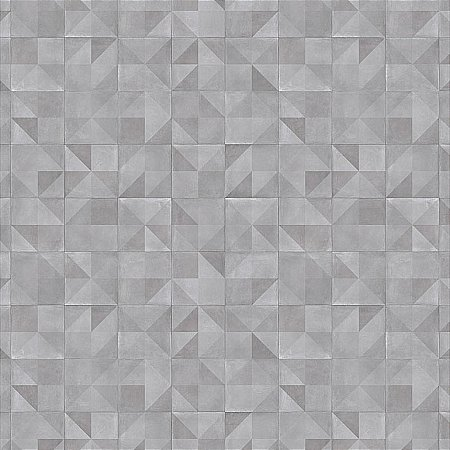 Rhinofloor - Prism Grey Vinyl Flooring Contemporary Tiles