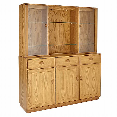 Ercol - Windsor Three Door High Sideboard
