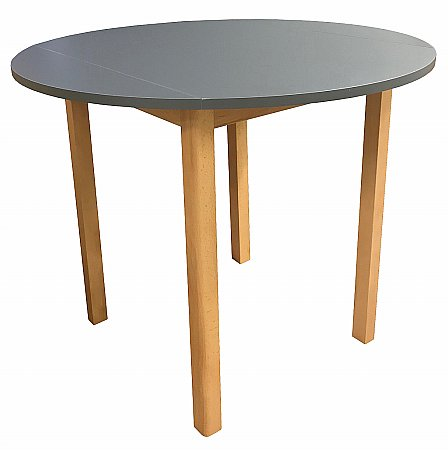 Anbercraft - Dura Top Round Drop Leaf Table