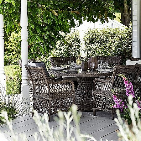 Neptune - Harrington Garden Dining Set Round Table